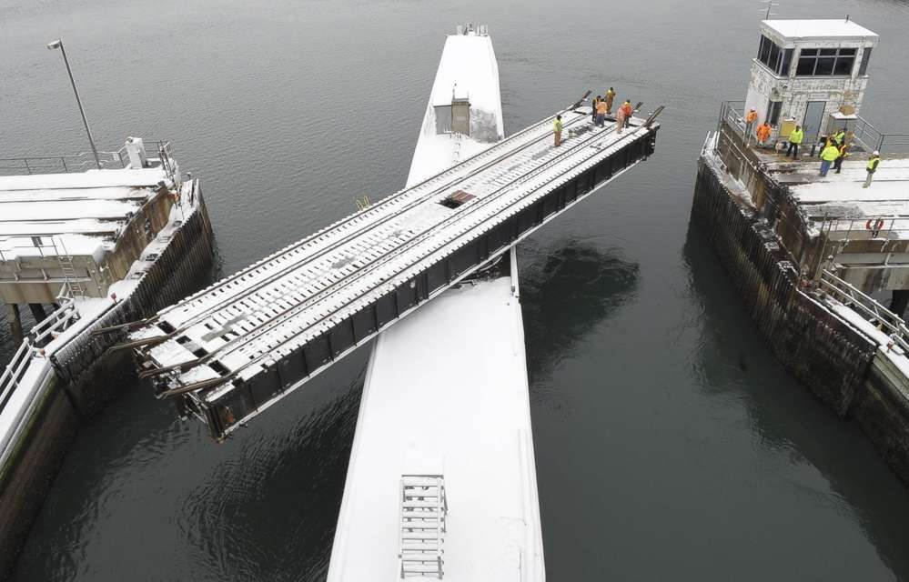 The Massachusetts Bay Transportation Authority (MBTA) is heading a project that includes replacing a drawbridge swing span superstructure.