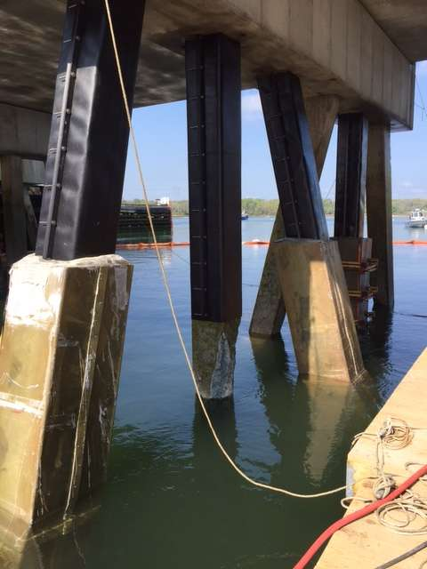 The swing span project began on March 15, 2016, and is scheduled for completion by Dec. 23, 2017.