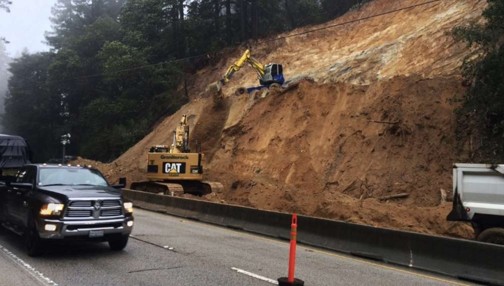 The state had a backlog of more than $100 billion in unfunded transportation needs even before the heavy winter rains caused damage to highways, bridges and local roads.