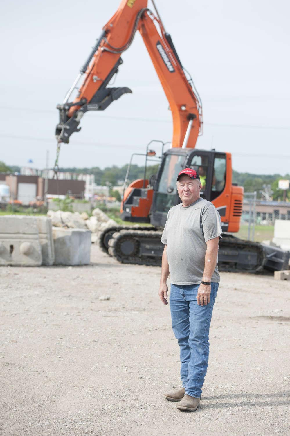 Jim Linhart, owner of Linhart Construction.