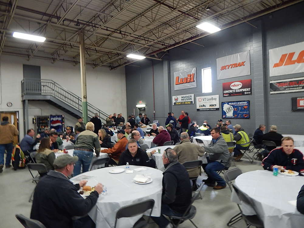 RMS Rentals held an open house on March 21 in Savage, Minn.