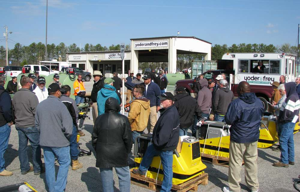 Yoder & Frey conducted an auction at its newest permanent sale site in Newnan, Ga., on March 23.