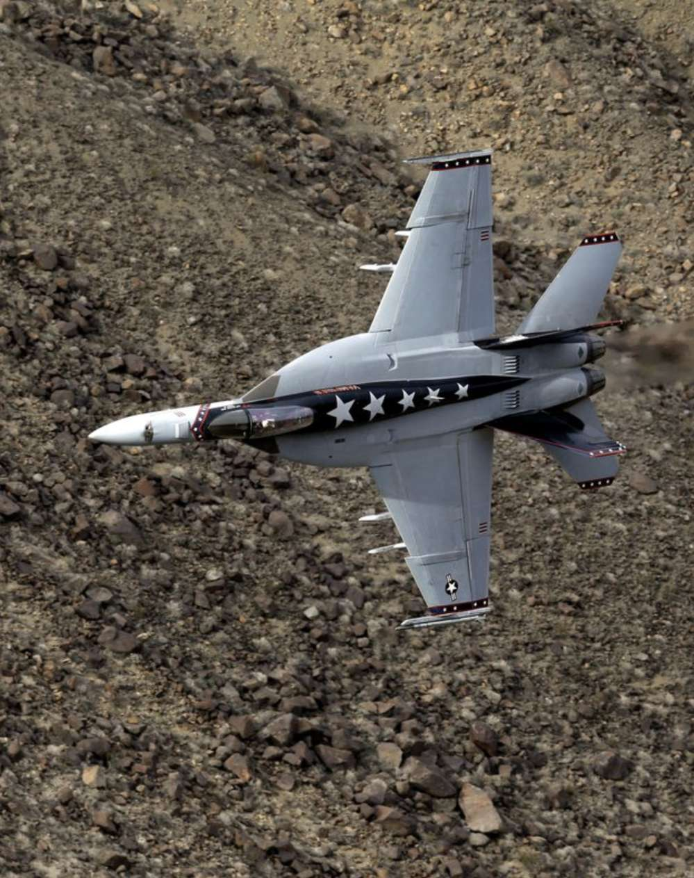 U.S. and foreign military pilots train in the canyon. (AP Photo/Ben Margot)