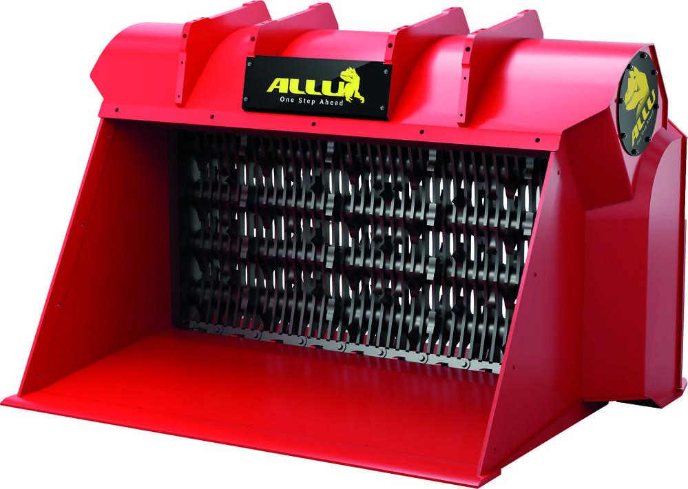 Standard blades work as screeners
