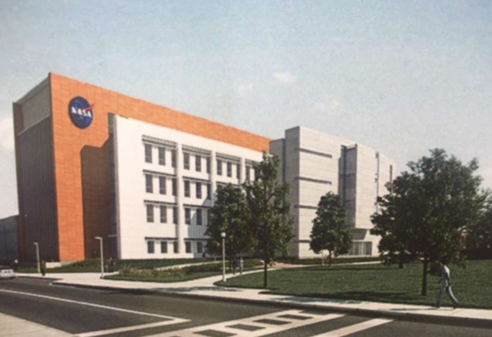 Artist rendering of the NASA facility.