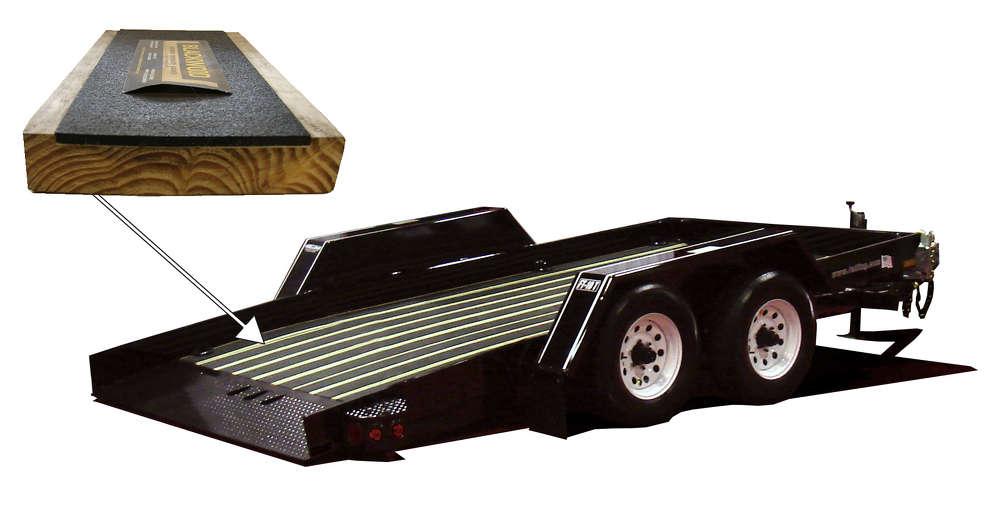 FT-10 T Pan Tilt trailer with Blackwood decking.