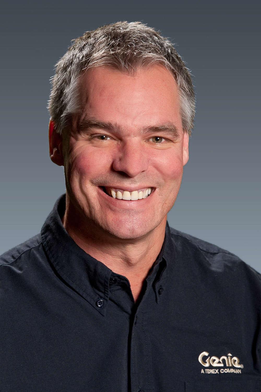 Scott Owyen, Training Manager for Genie.