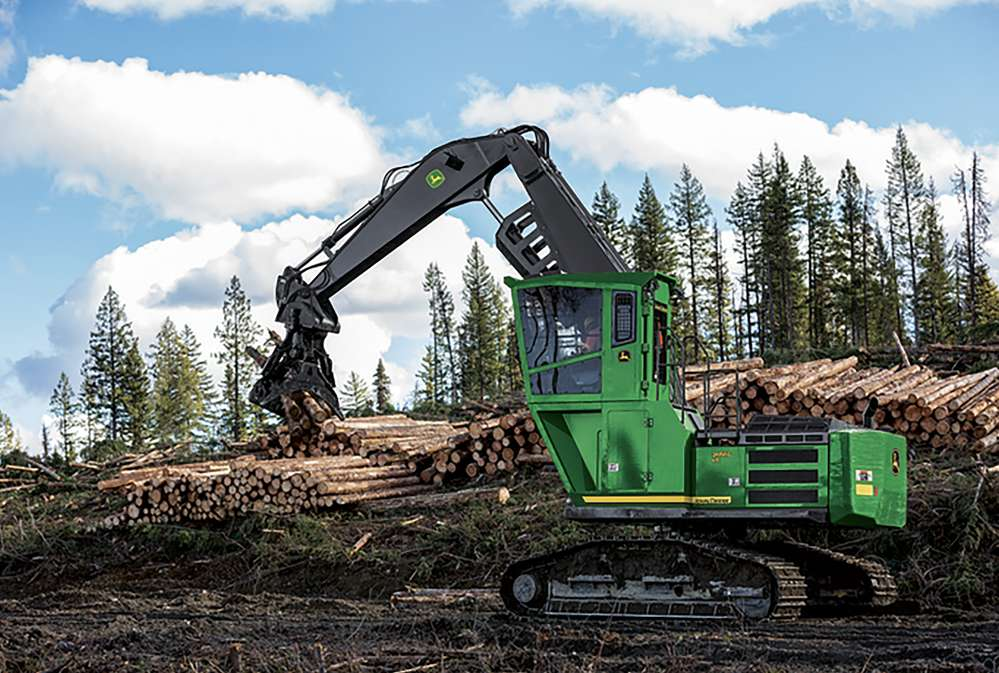 John Deere is extending its JDLink™ in-base subscription service from three to five years on construction and forestry machines