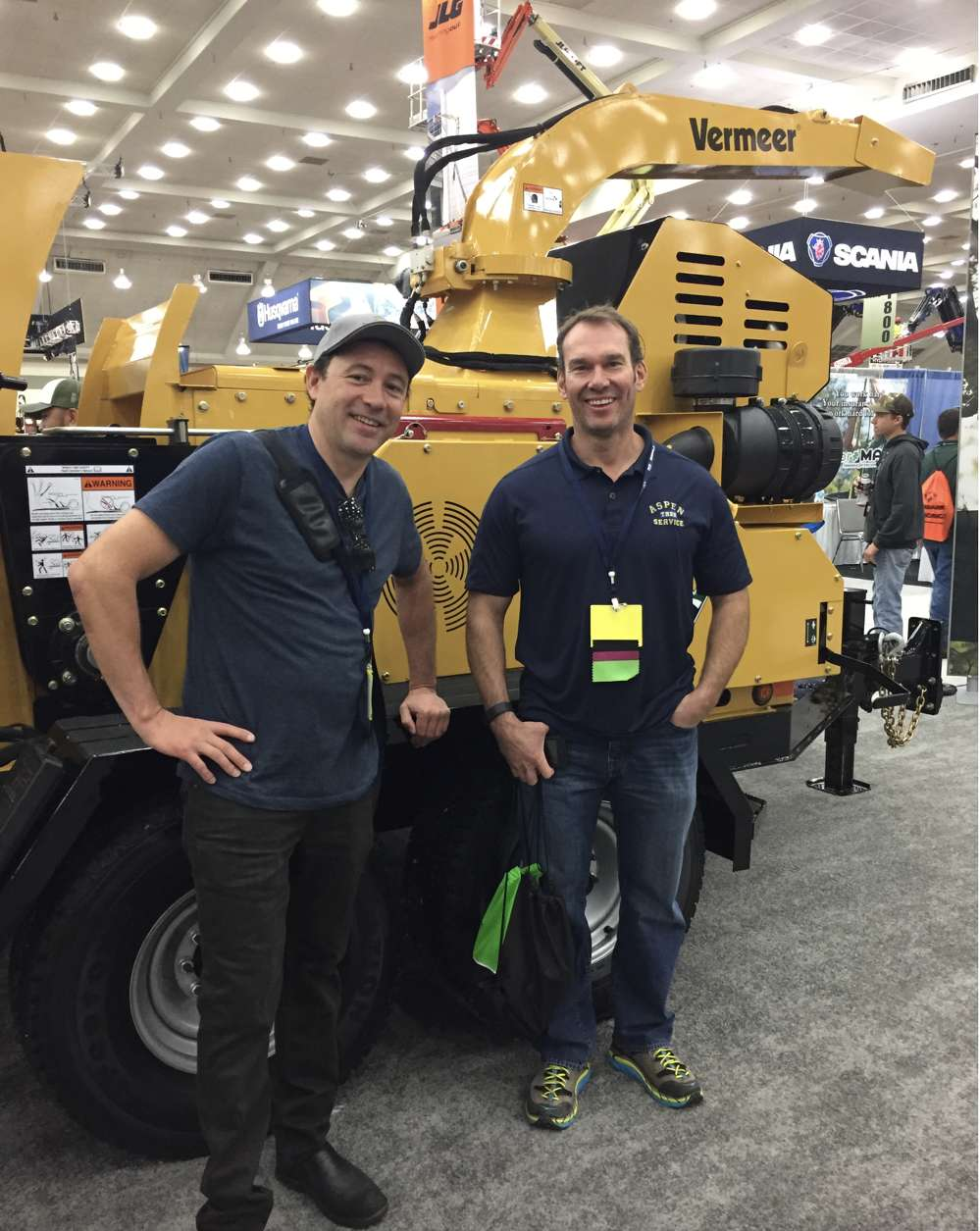 Jason Jones (left) Aspen Tree Service, Inc.