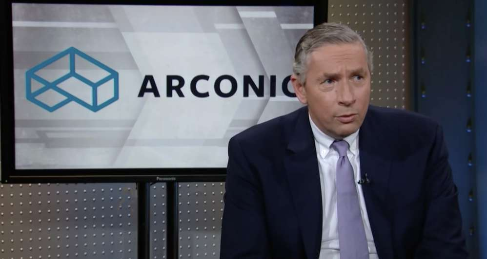 Klaus Kleinfeld,  former chairman and CEO of Arconic. Via cnbc.com