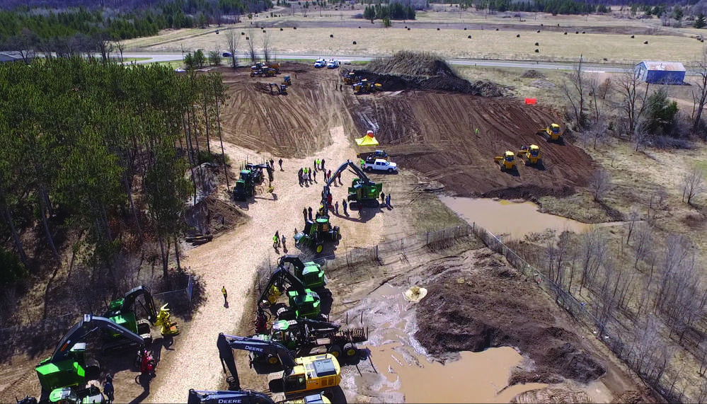Nortrax hosted its annual equipment demo and open house event on Friday, April 7 at the Chippewa Falls, Wis., branch.