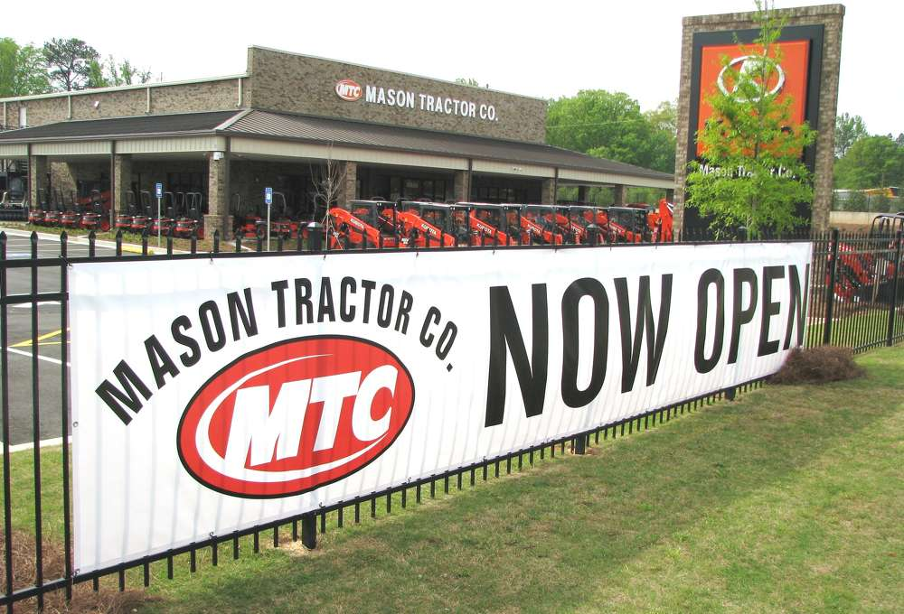 Mason Tractor Co. opened its brand new facility on April 10 and is located at 5038 Buford Hwy. in Norcross, Ga.