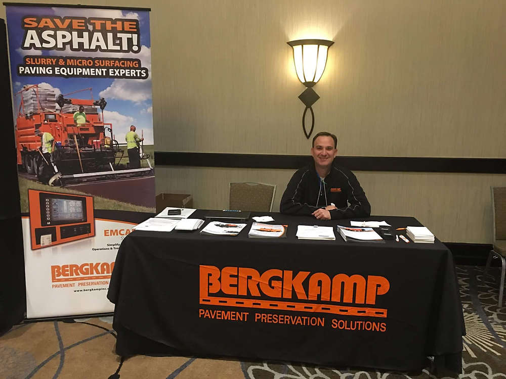 Jimmy Kendrick, Bergkamp's newly promoted Director of Contractor Sales, also serves as the Board Secretary of the Western Regional Association of Pavement Preservation.