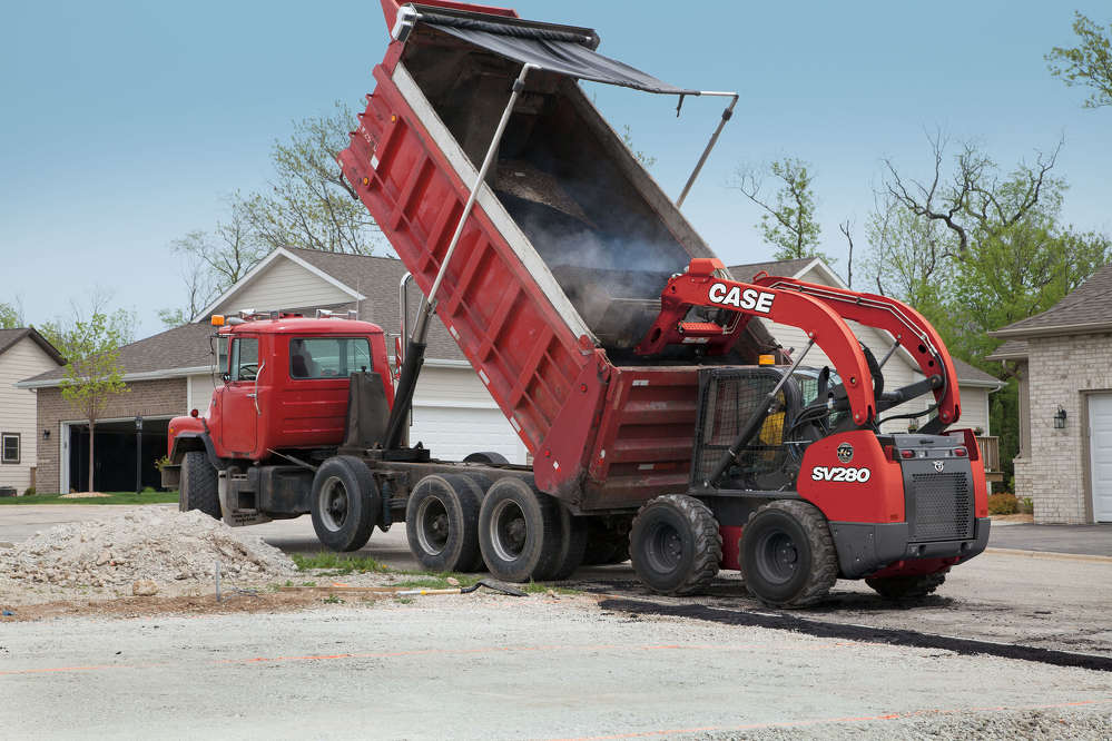 CASE Limited Edition Red Skid Steer