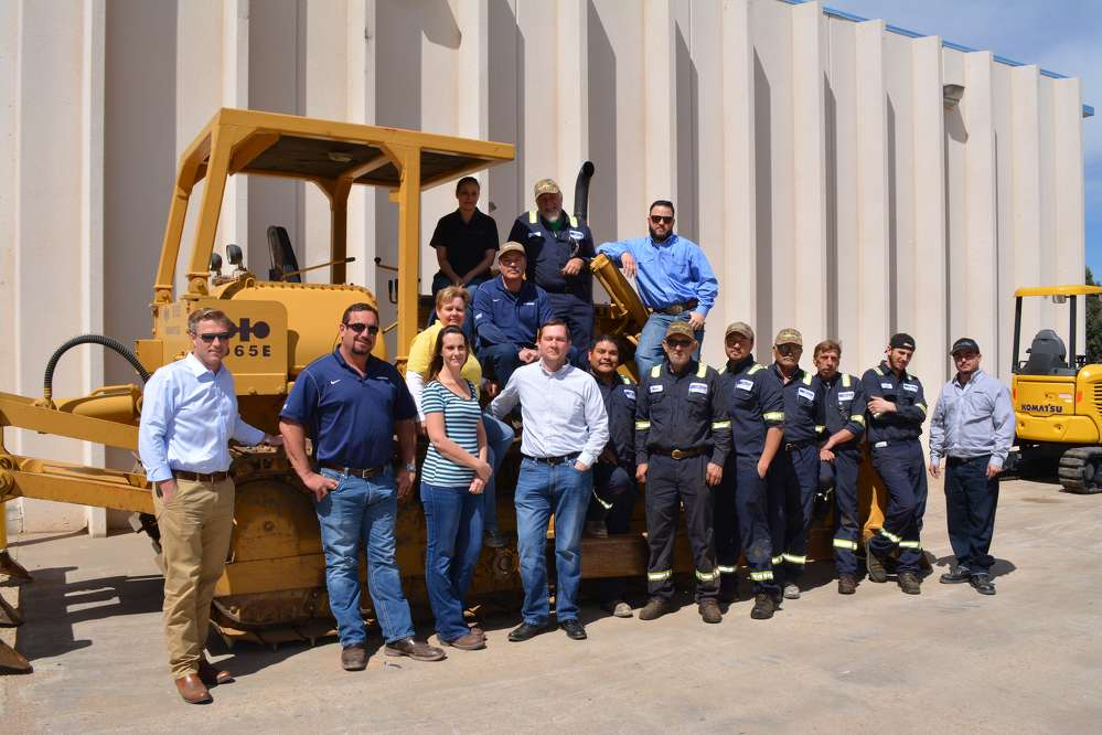 (L-R, first row) Grant Adams; Glenn Megehee; Tee Carroll; Randy Agee; Davin Aguilar; Robin Garland; Ray Godfrey; Al Saavedra; Gary Miller; Dayton Cox; Anthony Atencio (L-R, second row) Kristilyn Smith; Joe Pacheco. (L-R, third row) Naomi Lucas; Greg Upton; Justin Ray.