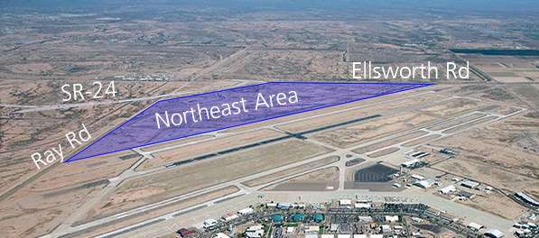 Phoenix-Mesa Gateway photo On March 21, 2017, PMGAA cleared another major development hurdle when the Federal Aviation Administration (FAA) issued its Finding of No Significant Impact (FONSI) and Record of Decision (ROD) for the Environmental Assessment (EA) for the Northeast Area Development Plan (NADP).