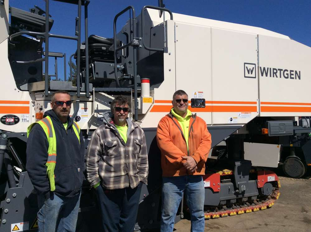 (L-R) Southbury, Conn., was represented by Nathan Lewis, Anthony Prestera and Gerry Magel, all drivers/operators for the town