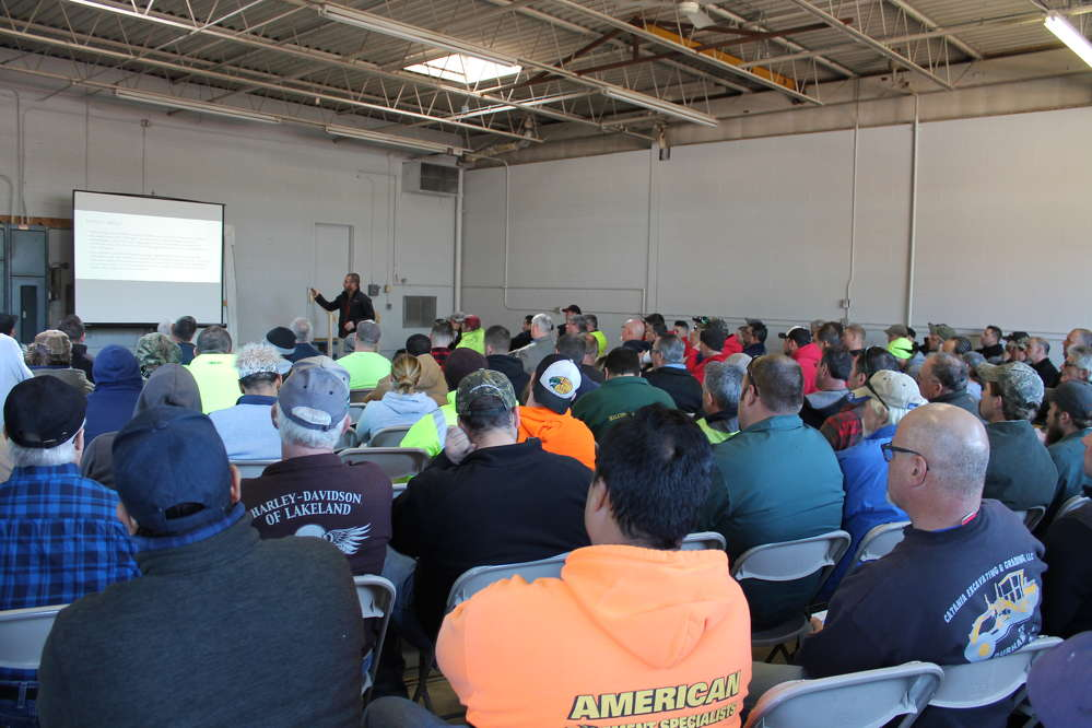 Representatives from Hamm, Wirtgen, Vogele and Kleemann were available to discuss the latest technologies, safety precautions and care applications for all of their machines.