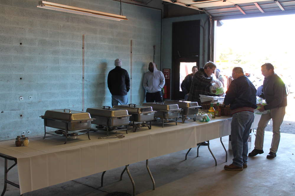 W.I. Clark provided guests with a catered lunch by Deli 66 located in Plantsville, Conn.