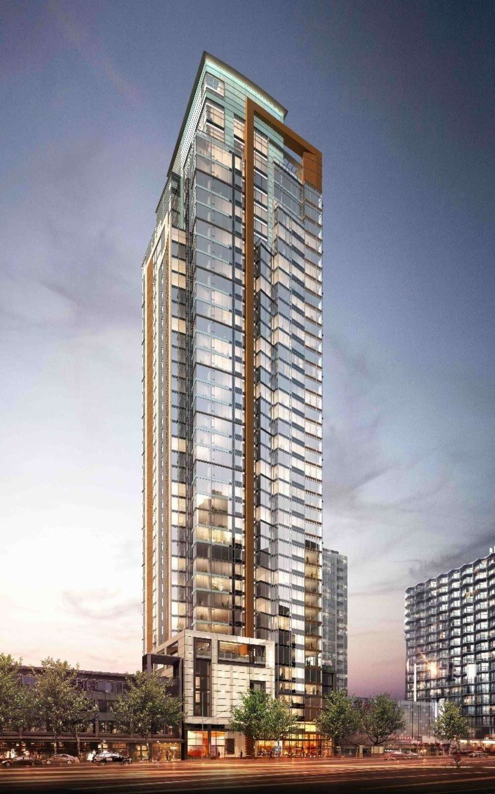 The Arrivé is a 41-story tower that will be one of the first for-rent mixed-use properties in downtown Seattle.