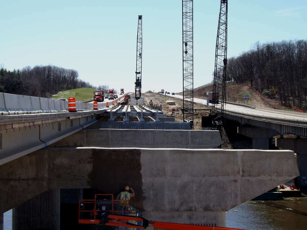 Initial construction began in 2013 with the replacement of the I-39/90 and WIS 11 (Racine Street) interchange in Janesville.