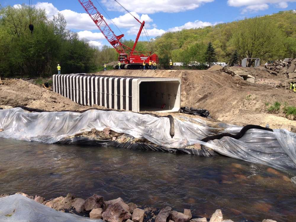 Road crews recently capped off the third and most challenging piece of a three-year project to raise 3 mi. (4.8 km) of road surface of a southwestern Minnesota highway above the 100-year flood mark to thwart habitual flooding by the Minnesota River.