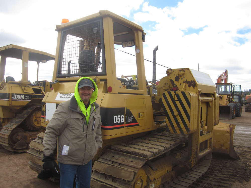 Bruce Hill of Hill Heavy Equipment wants to take this Cat D5 home.