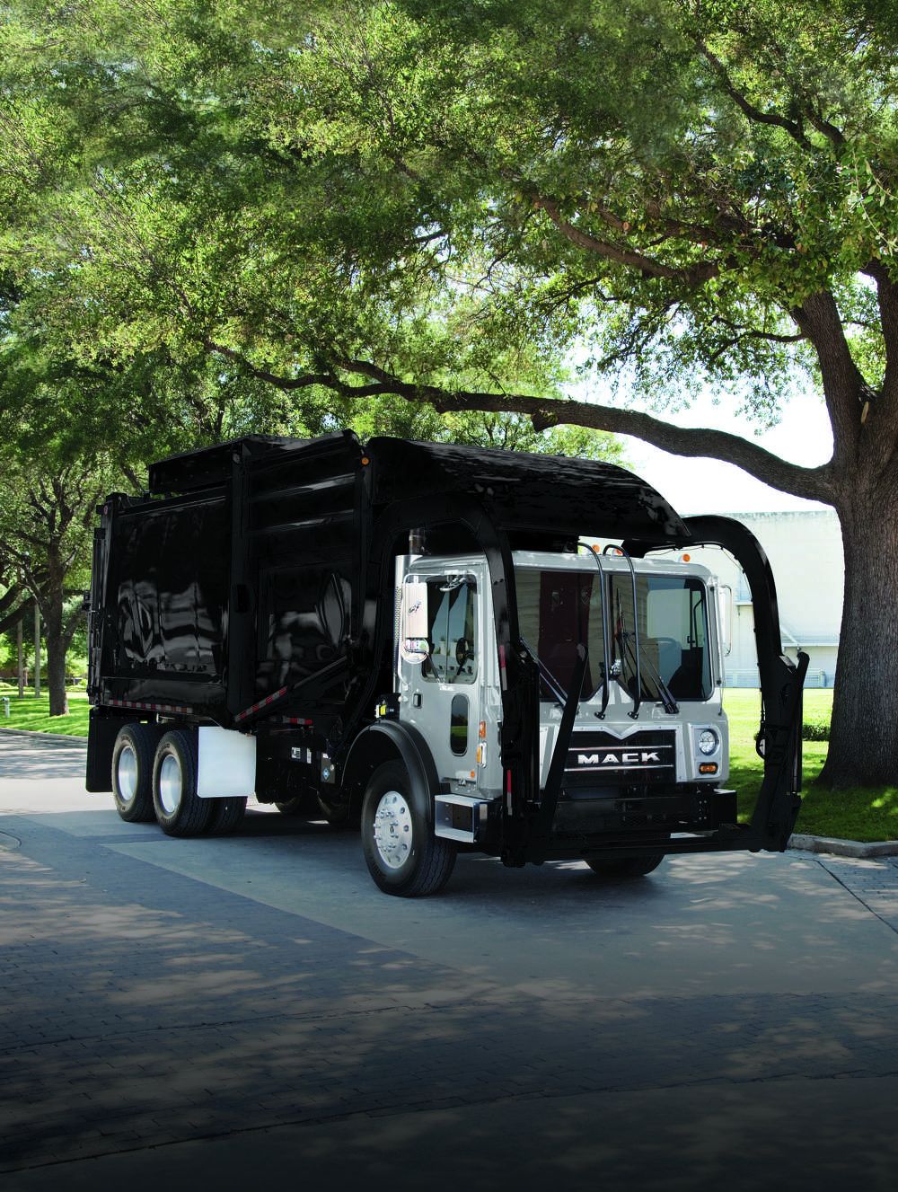 Mack Over The Air (OTA) is now available on refuse vehicles including the Mack Granite® and TerraPro (above) models. Mack OTA allows customers to update software without disrupting their schedules, improving efficiency and increasing uptime. Mack OTA will be available on Mack LR models with the launch of GuardDog Connect for LR models beginning in Q3.
