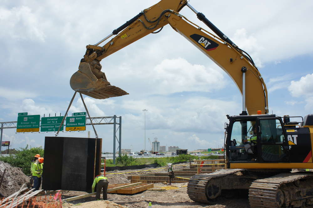FDOT? photo A  more than $2.3 billion project that will rebuild Interstate 4 through central Florida has officially passed the two-year mark of the nearly seven years slated for construction.