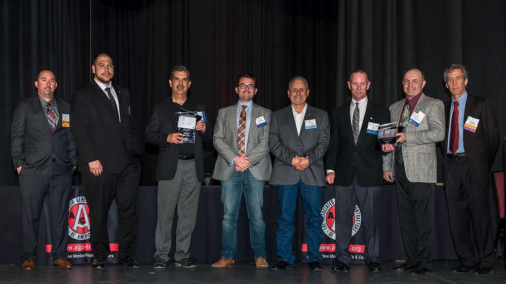 UNM Newsroom photo UNM Chemistry building renovation award winners.