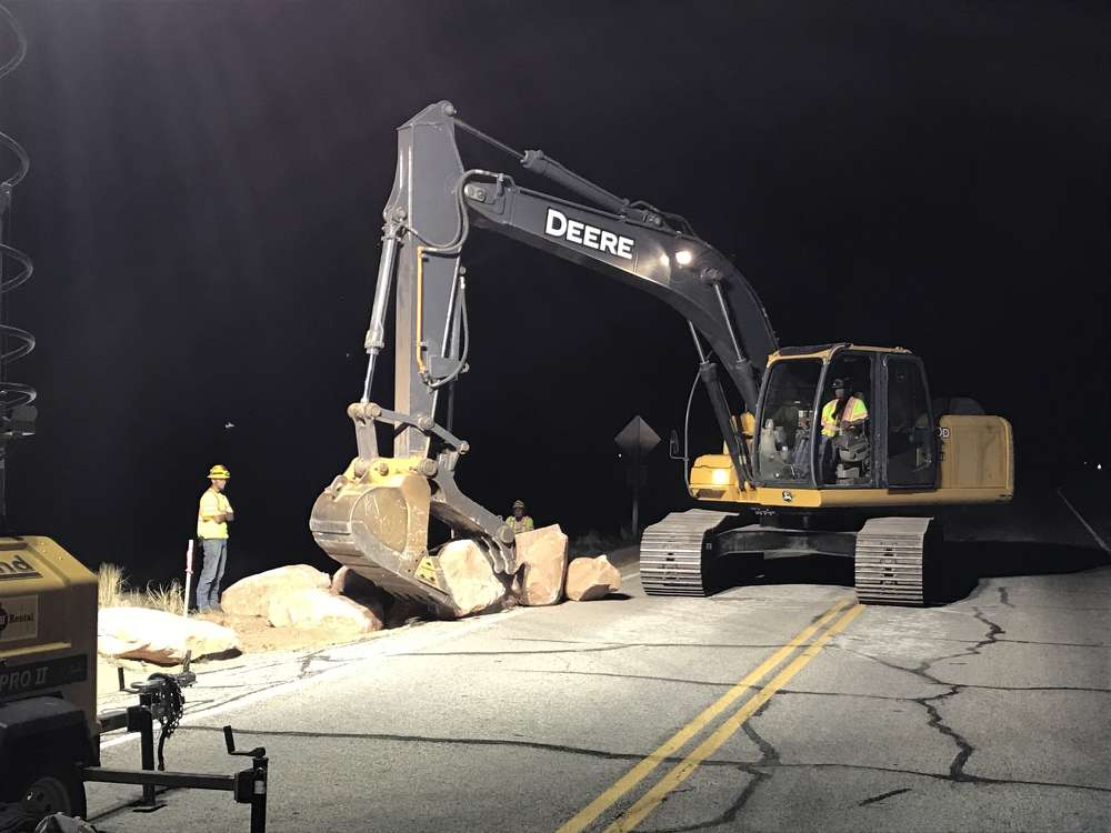 John Lewis, Arches National Park photo Work is under way on a $15 million project to reconstruct all paved roads and pullouts in Arches National Park  in Moab, Utah.