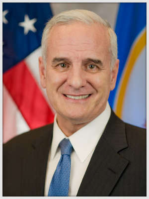Democratic Gov. Mark Dayton