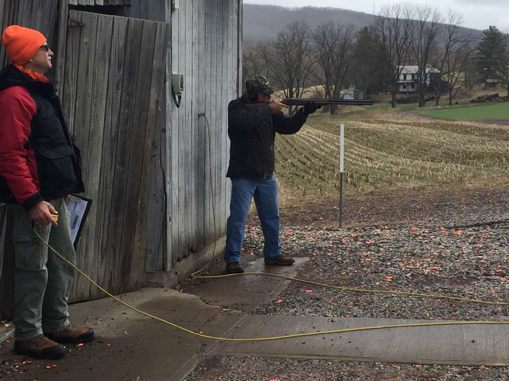 Shots were fired as local contractors took to the shooting ranges