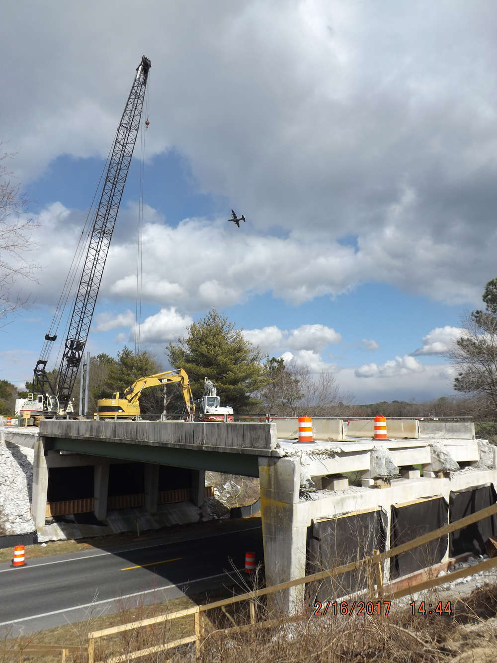 In August, the Maryland Department of Transportation's State Highway Administration (SHA) began a nearly two-year project to rehabilitate 11 bridges on U.S. 13/U.S. 50 (Salisbury Bypass).