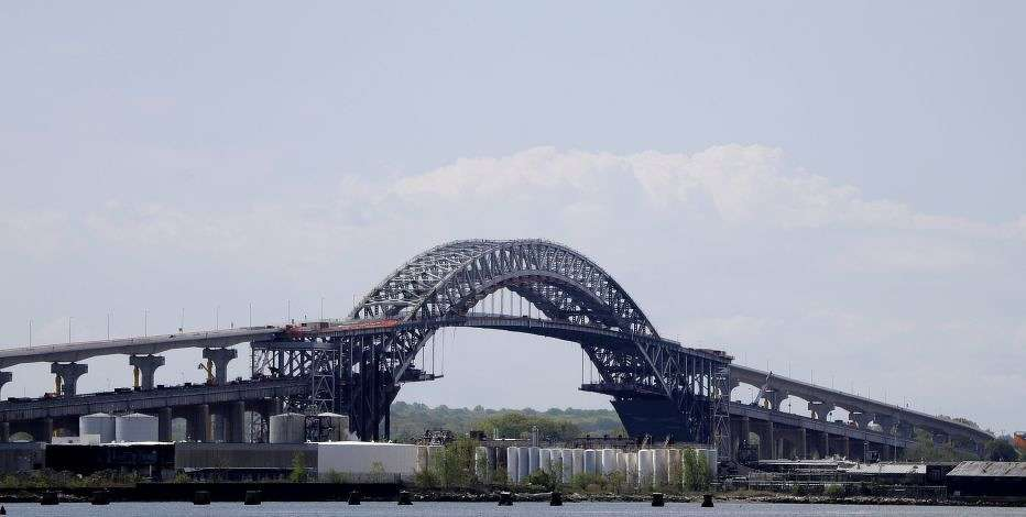 The larger ships are expected to be able to pass under the Bayonne Bridge later this year.
