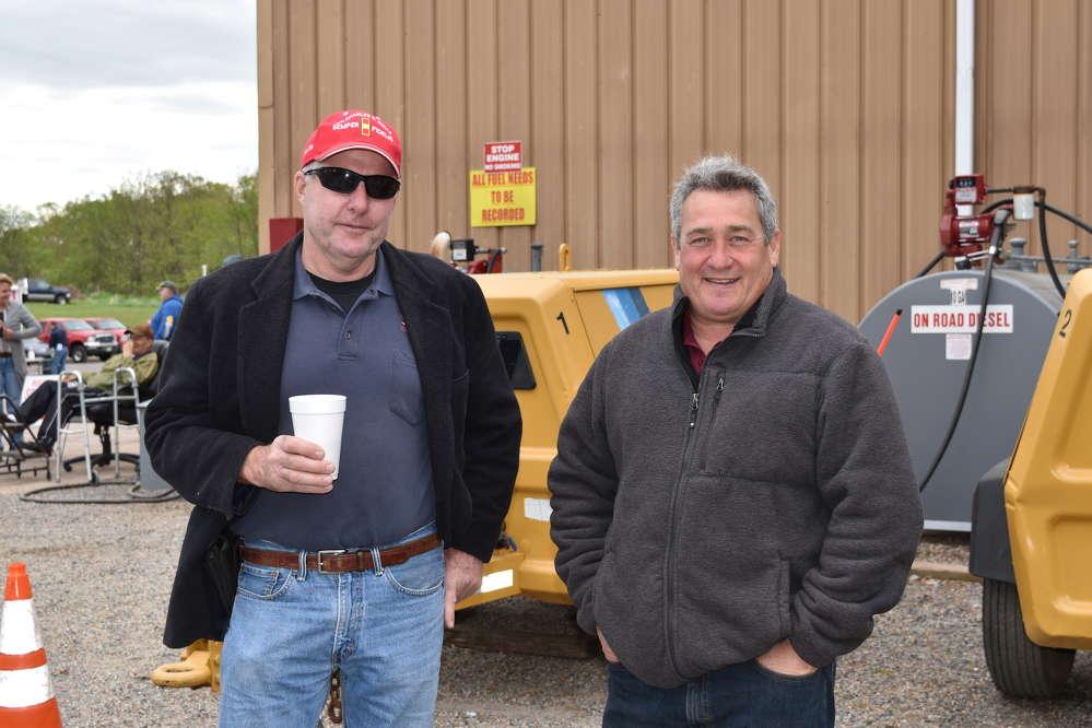 Doug Schilke (L), owner of Schilke Construction, Hillsborough, N.J., with Rick England, sales representative of JESCO.
