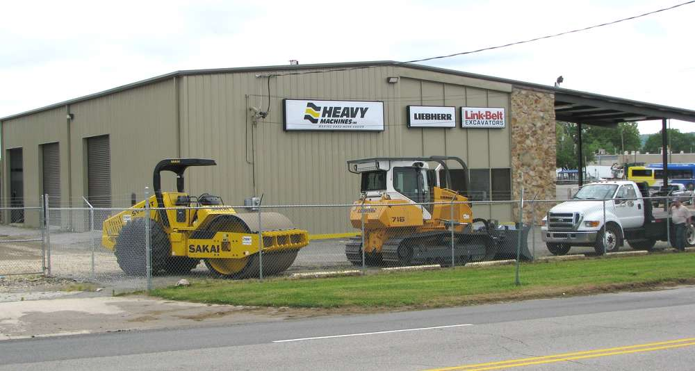 The newest Heavy Machines Inc. (HMI) branch facility is located on 31st Street North in Birmingham, Ala