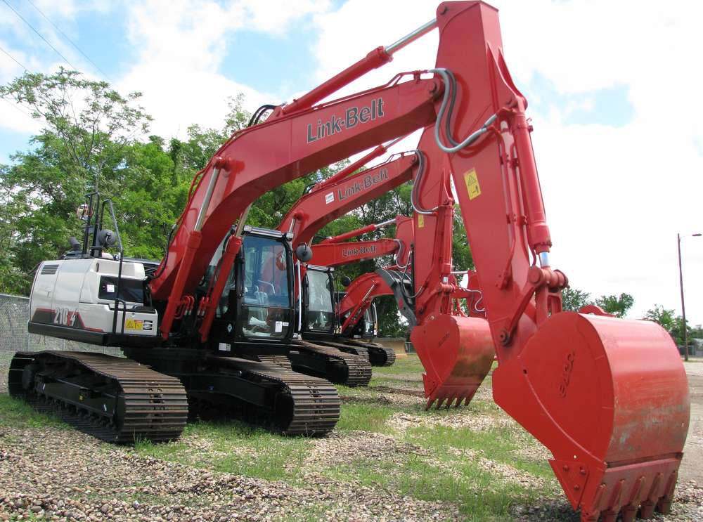 A great selection of LBX excavators are available at the Birmingham branch.