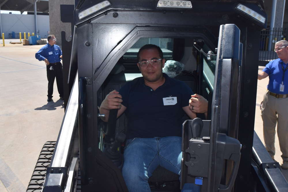 Duy Dao of the Lakeland Police Department tries out The Rook.