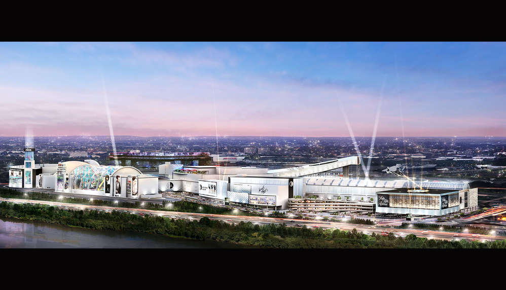 Artist rendering of the American Dream project located in Meadowlands, NJ.