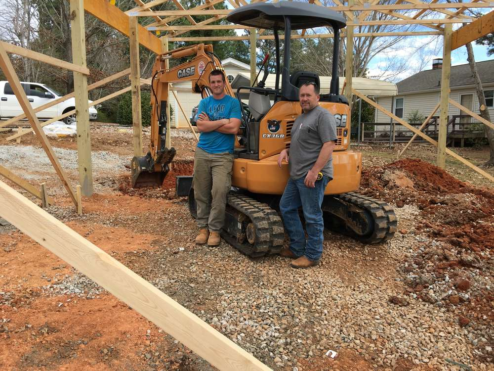 Rodney (L) and Dan Fehr, both of Dan Fehr Builders.