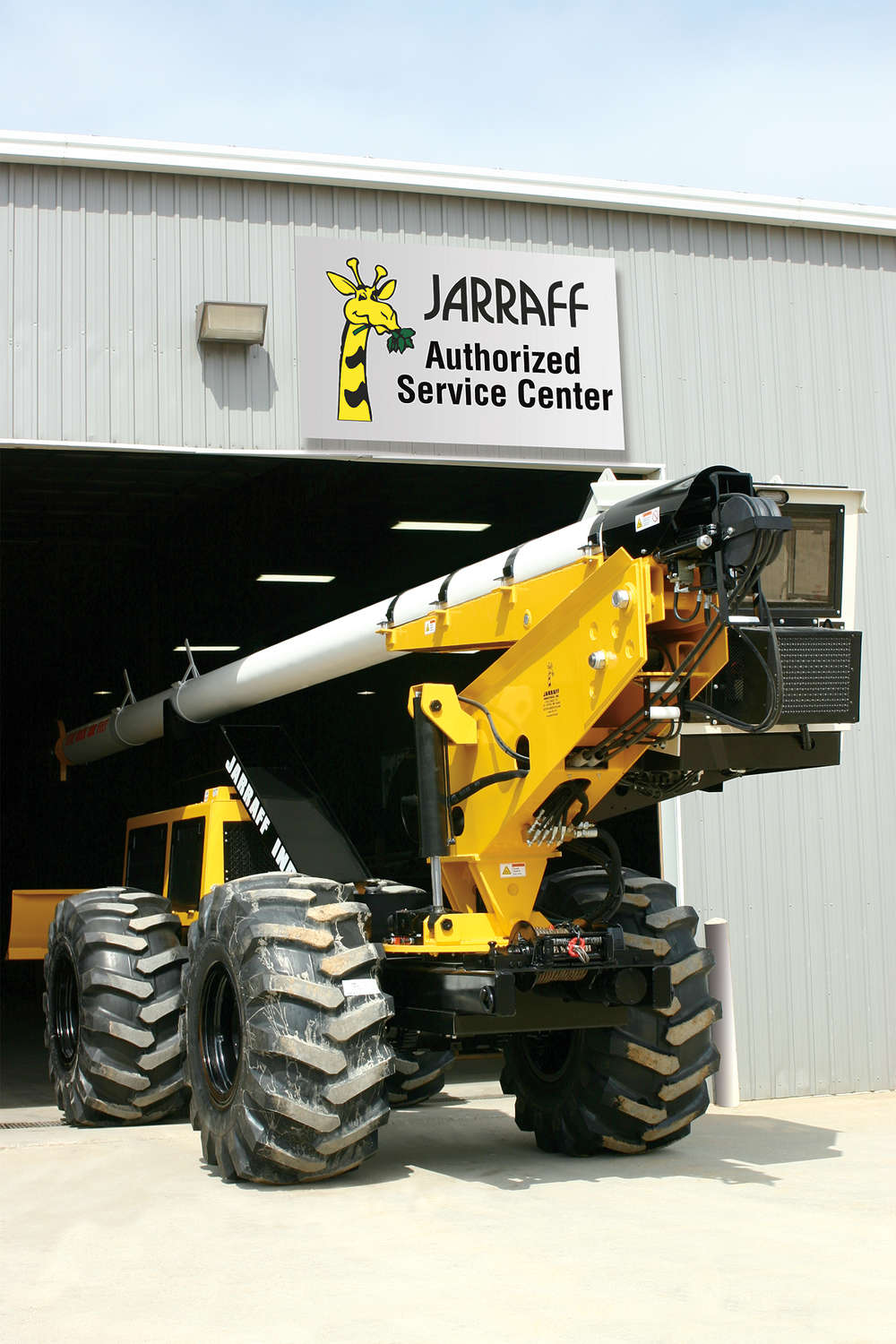 Jarraff Industries has added over-the-road mechanic services to its authorized service center.