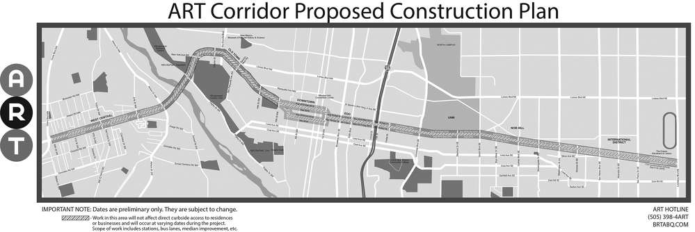 ART photo The project is expected to encourage transit-oriented development.
