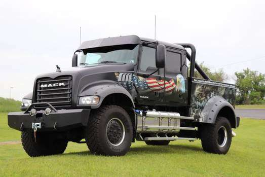 "Mack Trucks employees again will participate in the Rolling Thunder – Ride for Freedom rally Memorial Day weekend to pay tribute to America's fallen military. This year, Mack's Ride for Freedom truck is Jack Mack, a custom-built one-of-a-kind mega-crew cab named after John ""Jack"" M. Mack, one of the founders of Mack Trucks."