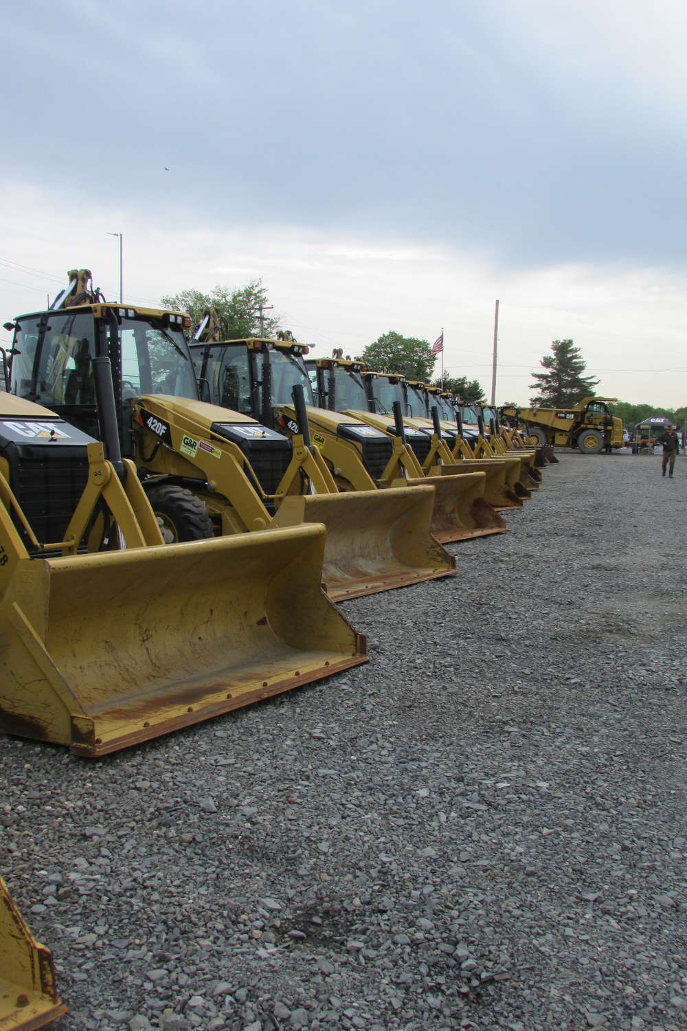 Special pricing was offered on a huge supply of Caterpillar equipment during Ransome CAT's One Day Sale.