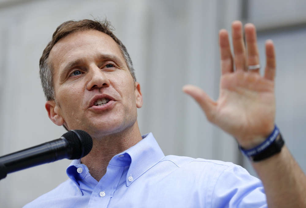 Missouri Gov. Eric Greitens