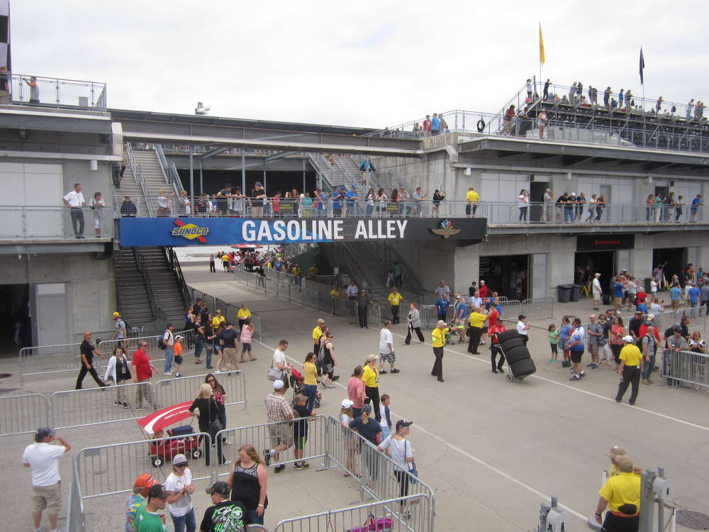 Howell Tractor's customers had an opportunity to tour the famed Gasoline Alley and pit and garage areas at the Indianapolis Motor Speedway.
