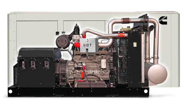 The Cummins C100N6 is the largest of the 45-kW-to-100-kW spark-ignited family of generators.