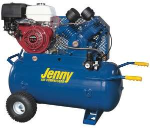 The W11HGB-30P is equipped with an 11-hp Honda GX-Series engine with electric start. It includes a 30-gal. (113.5 L), ASME-certified air tank with a durable powder coat. The compressor produces 21 CFM at 100 psi or 17.6 CFM at 175 psi.