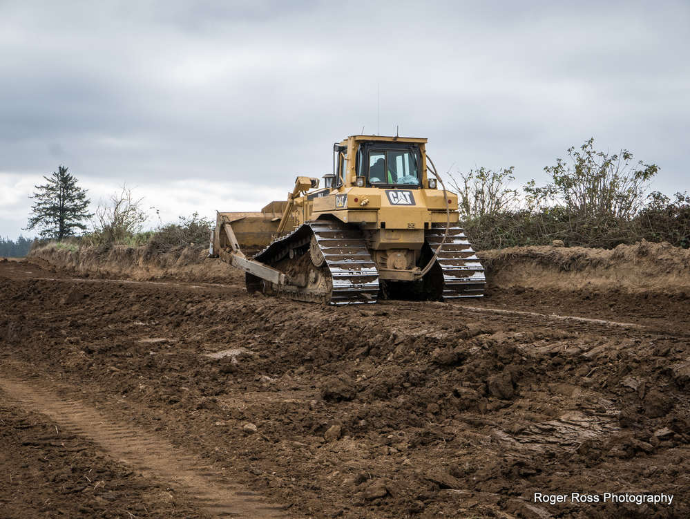 Project manager Paul Levesque describes it as a major earthmoving challenge